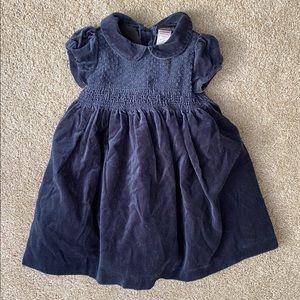 Gymboree 18-24 month Velvet Cap Sleeve Dress